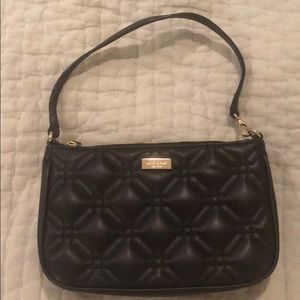 Kate Spade quilted mini purse/ wristlet